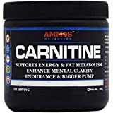 Ammos Nutrition Carnitine, Unflavoured, 100 Servings