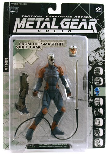 Mcfarlane Toys Metal Gear Solid Action Figure Ninja
