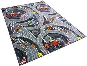 Disney PLANES grau Teppich Kinderteppich mit Dusty Spielteppich für Kinder, 300x200 cm    Kundenbewertung und weitere Informationen