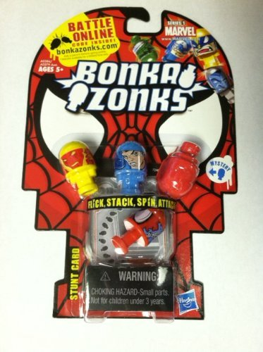 Bonkazonks Marvel Series 1 4-pack Spider-man