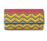 ShopMantra line pattern Multicolor Ladies Wallet LW00000208