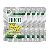 グリコ ブレオEX  BREO EX 66g × 5個 口中ケアタブレット 歯科専売 (グリーンアップル)
