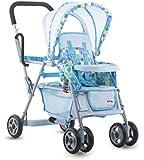 Toy Doll Caboose Tandem Stroller - Blue Dot