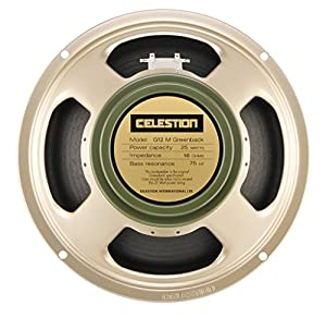 Celestion G12M Greenback Guitar Speaker, 16 Ohm