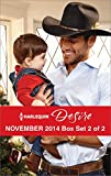Harlequin Desire November 2014 - Box Set 2 of 2: The Cowboys Pride and Joy\From Enemys Daughter to Expectant Bride\The Bosss Mistletoe Maneuvers