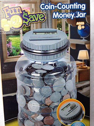 Fun2 Save Coin Money Digital Counting Jar bank - 1