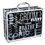 Top Performance Aluminum Graffiti Print Clipper Case, Black