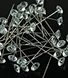 Crystal Diamante Bouquet Jewelry Pins