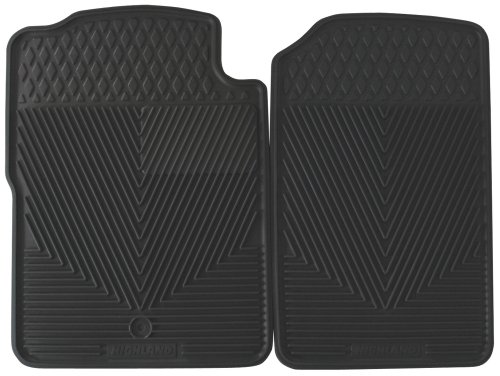 Highland 4503800 All-Weather Gray Front Seat Floor Mat front-881237