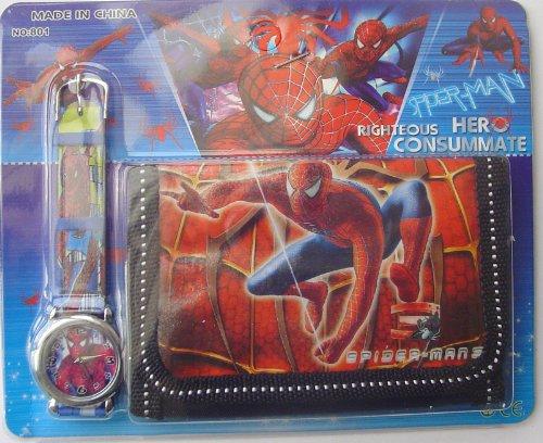 spider-man-watch-and-wallet-set