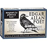 Magnetic Poetry - Edgar Allan Poe Poet Kit - Words for Refrigerator - Write Poems and Letters on the Fridge - Made in the USA