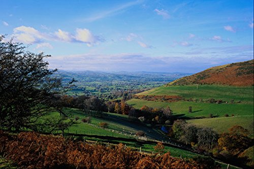 640057 Vale Of Clwyd View From Moel Farnau Country Park A4 Photo Poster Print 10×8