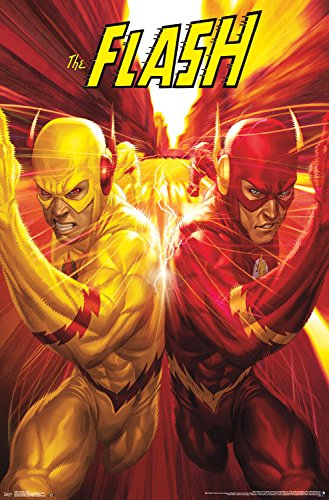 Trends International RP14665 The Flash Race Wall Poster, 22.375