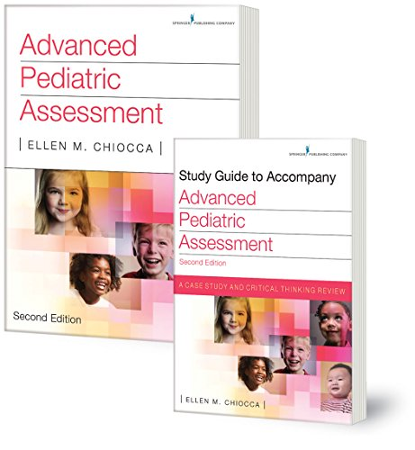 Advanced Pediatric Assessment and Study Guide Set
