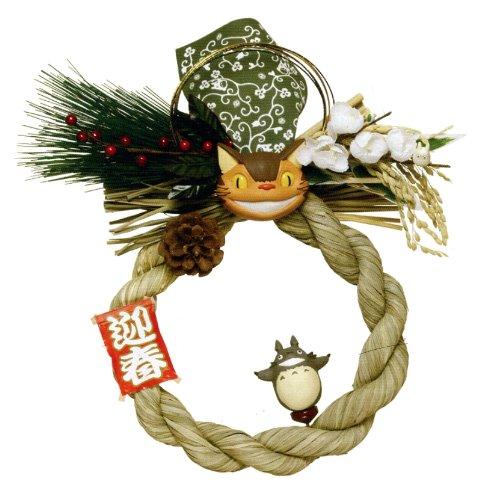 [New shimenawa ornament botu] full ★ Ghibli Totoro Totoro ★ Totoro and new year coming!