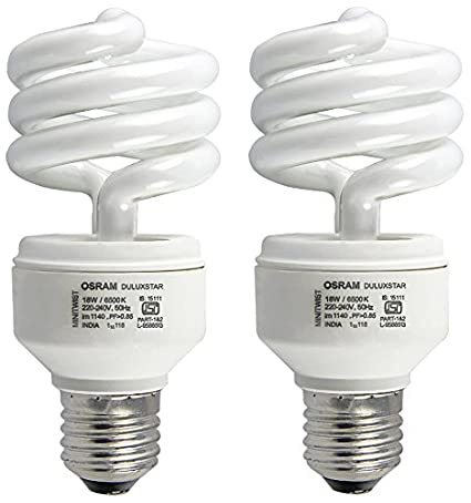 Osram-18-Watt-Spiral--CFL-Bulb-E27-White-(Pack-of-2)