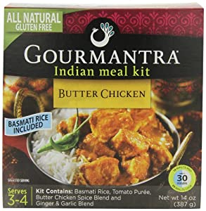 Gourmantra Butter Chicken 14 Ounce Boxes Pack Of 6 Indian F