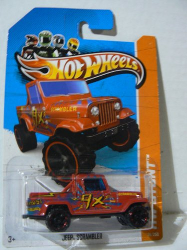 Hot Wheels HW Stunt Jeep Scrambler - 1
