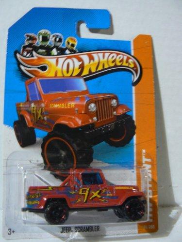Hot Wheels HW Stunt Jeep Scrambler