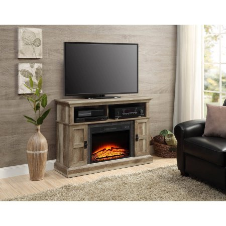 Whalen Media Fireplace Console for Flat Panel TVs up to 55