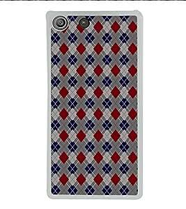 ifasho Designer Phone Back Case Cover Sony Xperia M5 Dual :: Sony Xperia M5 E5633 E5643 E5663 ( Blue Skull With Green Leaf Glow )