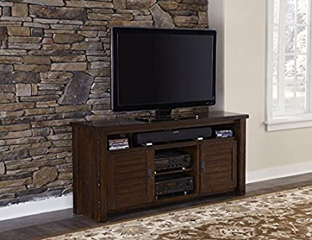 64 in. Traditional TV Console Table