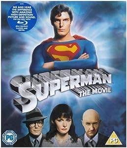 Superman: The Movie [Blu-ray] [1978] [Region Free]