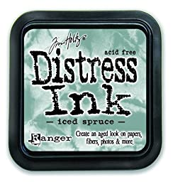Ranger Tim Holtz Distress Ink Pad, Iced Spruce by Ranger