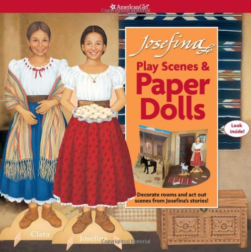 Josefina Play Scenes &amp; Paper Dolls