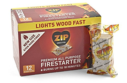 Best Prices! Zip Premium All Purpose Wrapped Fire Starter (12 Pack)