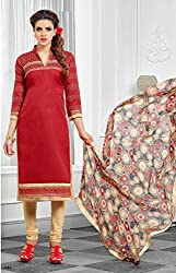 Aditya Fashion Designer Dairymilk Branded Multi Color embroidary Unstitched Dress Material