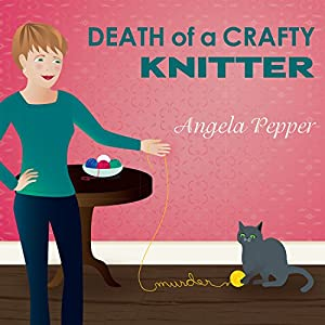 Death of a Crafty Knitter Audiobook
