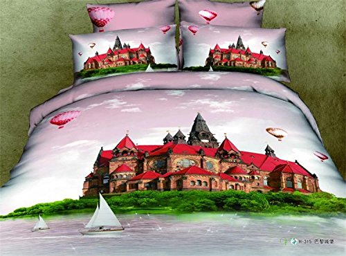 Pink Paris Bedding front-1074789