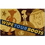  Disney Wipe Your Boots Novelty Rectangular Doormat