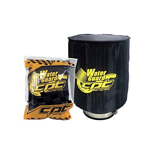 Water Guard Cold Air Intake Cone Pre Filter Cover for Infiniti Large Black CPT-WG-L-BLK (Infiniti M45 Cold Air Intake compare prices)