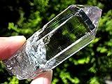 パキスタン・スカルドゥ産ヒマラヤ水晶SAグレード (セルフヒールド/光沢/透明) ⑥ 【原石・結晶AMERI】