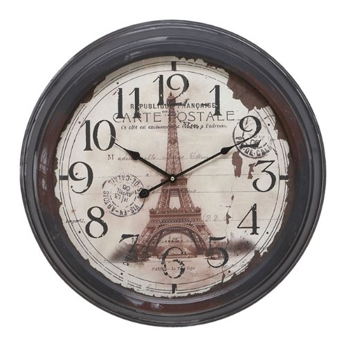 Casa Cortes Republique Francaise Metal Wall Clock