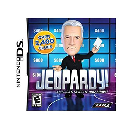 New Thq Jeopardy! Puzzle Game Complete Product Standard Retail Nintendo Ds Excellent Performance