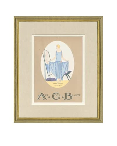 Art Gout Beaute Fashion Illustration Cover from January 1924