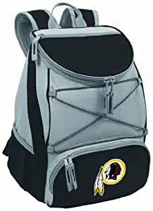 NFL Washington Redskins PTX Insulated Backpack Cooler, Black by Picnic Time