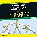 Grundlagen der Mediation für Dummies Hörbuch von Al Weckert Gesprochen von: Michael Mentzel