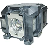 EPharos ELPLP67 Projector Lamp Replacement With Generic Housing For EPSON EX3210 EX3212 EX5210 EX6210 EX7210 MG-50 MG-850HD EPSON PowerLite 1221 1261W S11 W16 W16SK X12 X15 VS210 VS310 VS315W VS320 EPSON PowerLite Home Cinema 500 707 710HD 750HD. EPSON EB