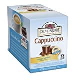 Grove Square Cappuccino, Single Serve Cup for Keurig K-Cup Brewers [pack of 1]