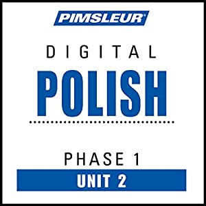 Polish Phase 1, Unit 02 Audiobook