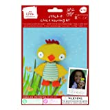 Make Your Own - Stitch It Chick Keyring Kit
