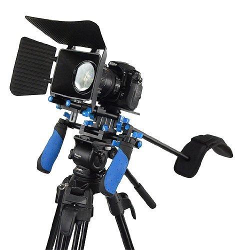 Morros DSLR Rig Shoulder mount rig Stabilizer For DSLR Cameras and Camcorders