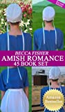 img - for Amish Romance 45 Book Boxed Set book / textbook / text book