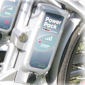 Vision Powerpack E-BIKE Akku - 26V / 25Ah - NEUESTE VERSION - für PANASONIC Kalkhoff Flyer Raleight Victoria ebike Pedelec Ersatzakku Power Pack - Kraftmax Edition