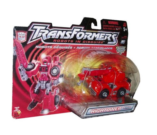 Transformers Robots In Disguise Combiners 6 Inch Action Figure - HIGHTOWER - Autobot Crane 1 6 scale scene annex mr z neapolitan mastiff 001 black dog collar set tabby animal model fit 12 inch action figure doll toys