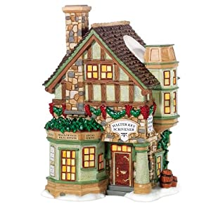 #!Cheap Department 56 Dickens Village Walter Key, Scrivener
